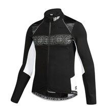 Sanitc Winter Bike Clothing Windproof Fleece Coat Thermal Bicycle Keeping Warm Ropa Ciclismo Jacket Bicycle Cycling Jacket Men