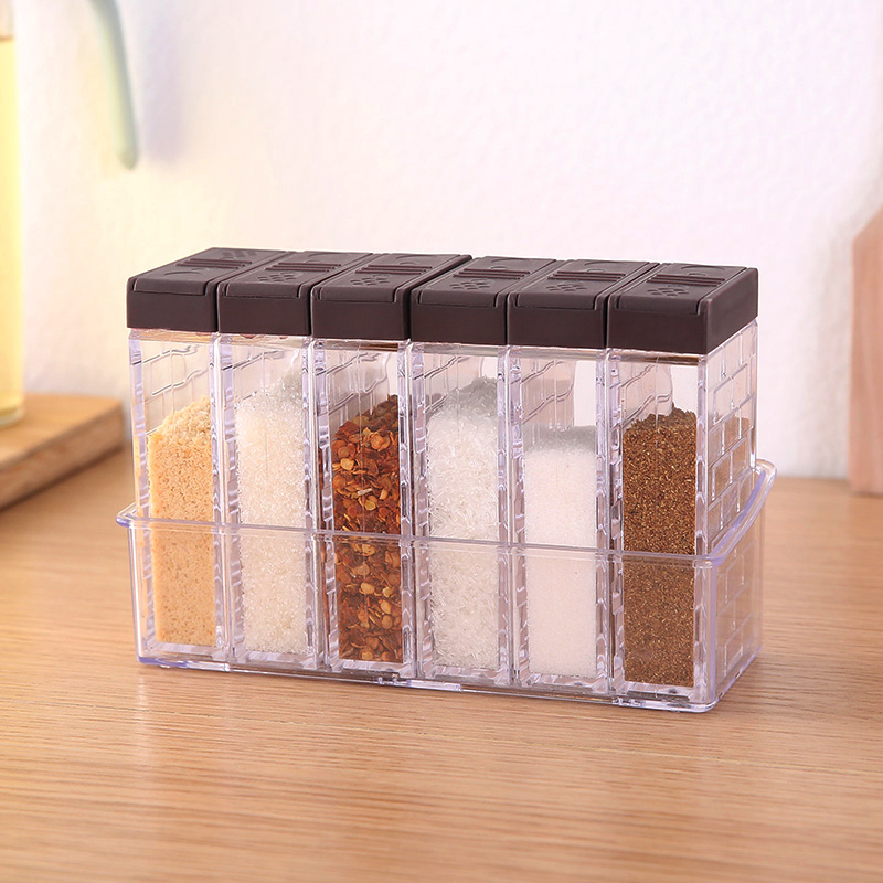 Box Home Boxes Storage-Organizer Bottles Organization-Accessories Seasoning Plastic Sugar