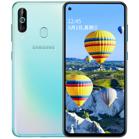 "Image 4 - Samsung Galaxy A60 A6060 LTE Mobile Phone 6.3"" 6G RAM 64GB ROM Snapdragon 675 Octa Core 32.0MP Rear Camera Phone-in Cellphones from Cellphones & Telecommunications"