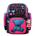 New 2016 Fashion Brand Cartoon Owl Cute Bear Girl Boys School Bags Waterproof Foldable Orthopedic School Backpacks Kids Bolsas