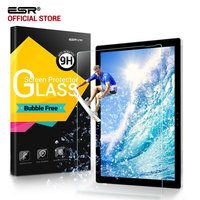 Screen Protector For Surface Pro 5 Pro 4 ESR Ultra Clear HD Tempered Glass Film Bubble