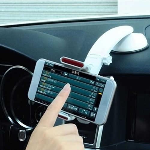 360 Derajat Universal Mobil Dashboard Dudukan Cradle untuk Ponsel GPS