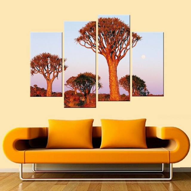The Tree Wall Art Modern Giclee Canvas Prints Artwork Contemporary ...