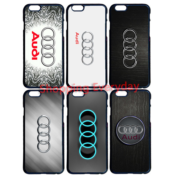 Audi Car Logo Phone Cases (12 Types)