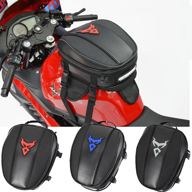 MOTOCENTRIC Motorcycle Tank Bag Waterproof Magnetic Moto Tank Bag Can Be Fixed Helmet Motorcycle Racing Tail