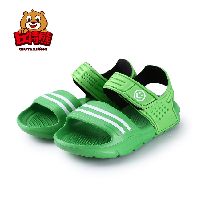 4503f5823 2018 Summer Girls Shoes Kids Sandals Soft EVA Boys Shoes sandalias Children  Slippers for Girl Outdoor Beach Quality Baby Sandals