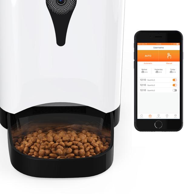 Alimentador Automático Inteligente con WiFi Remoto