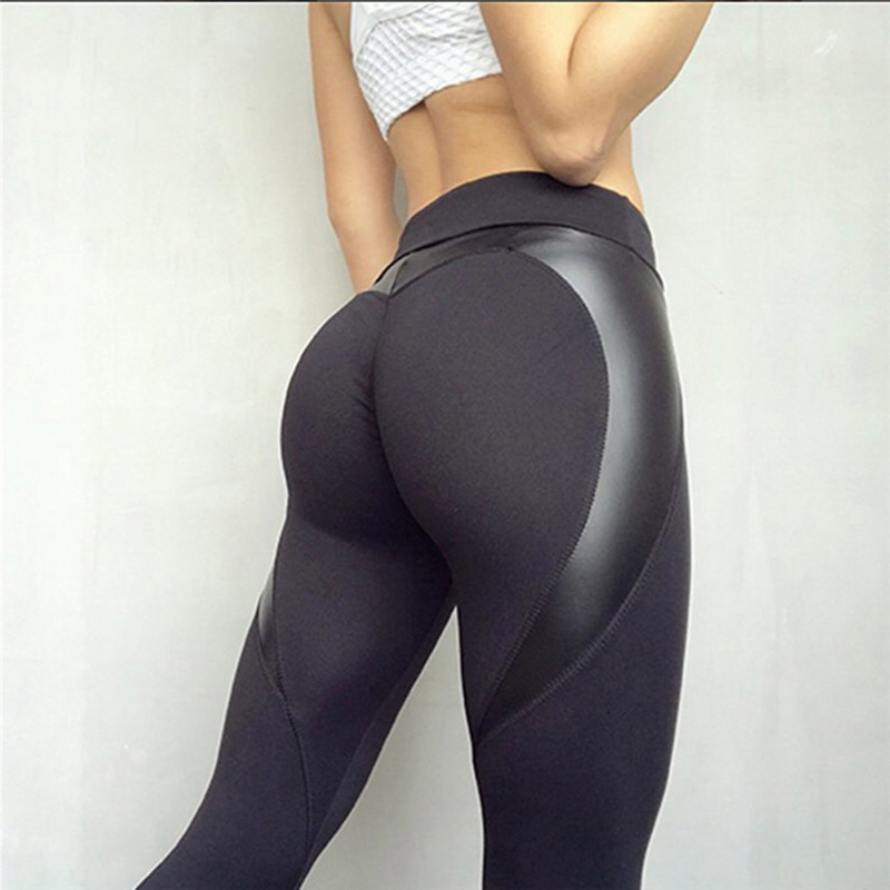 CFR Active Leggings Womens Ruched Butt Leggings High Waist Back Tie Workout Sport Yoga Tights