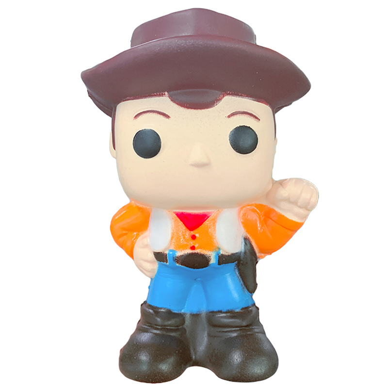 Jumbo Toy Story 4 Squeeze Toy Woody Buzz Lightyear Squishy Slow Rising Cartoon Doll Soft Stress Relief Fun Gift Xmas Toy For Kid