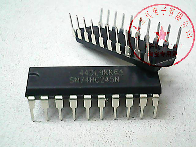 10pcs/lot SN74HC245N SN74HC245 74HC245N 74HC245 DIP-20 New Original In Stock