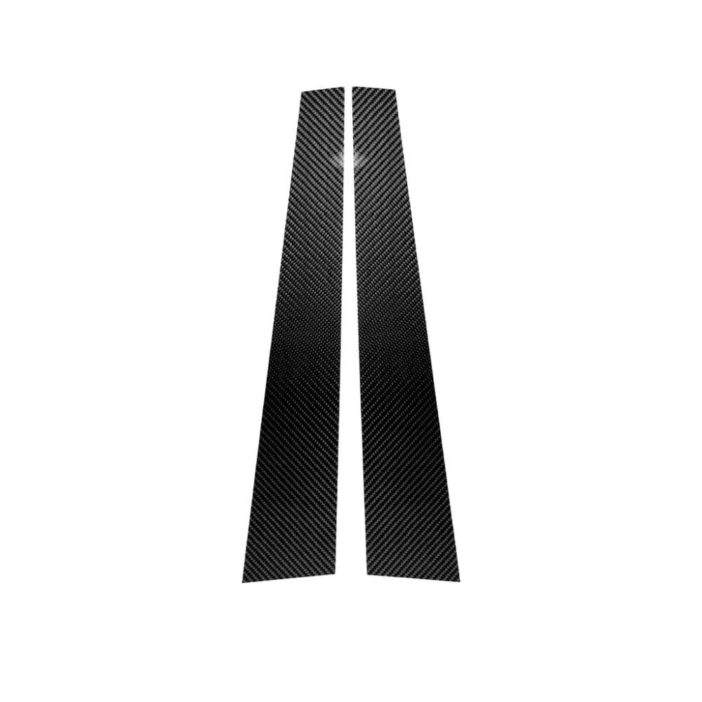 Image 3 - Carbon Fiber Window B pillar Molding Cover Trim For BMW 1 3 5 Series E90 E60 F30 F10 X5 X6 X1 X3 E70 E71 F15 F16 F07 F25 E46 E84-in Interior Mouldings from Automobiles & Motorcycles
