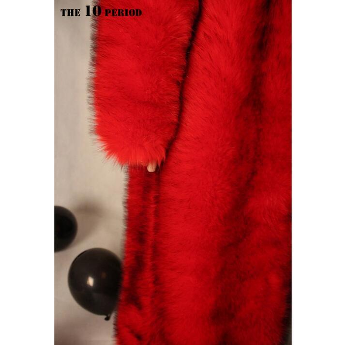 Costumes Hommes Manteau Long Performance La Fourrure Scène Chanteur Chanteuse Rouge Et Grand Dj Hot Des Vêtements 4xl En Ds De Fausse S Femmes New 5qwAnaTW1