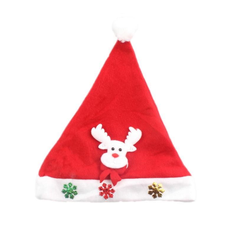 Newborn Baby Christmas Hats Boys Girls New Winter Hat Infant Toddler Snow Man Santa Claus Moose Decoration Hats