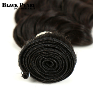Image 4 - Black Pearl Ombre Deep Wave Brazilian Hair Weave Bundles T1B/4/27 Human Hair Three Tone Blonde Hair 1 / 3 / 4 Bundles Non Remy
