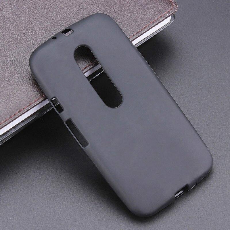Черный гель ТПУ тонкий мягкий Анти skiding задняя крышка для Motorola <font><b>Moto</b></font> <font><b>G3</b></font> G 3nd поколения g 3 Mobile телефон резиновый мешок
