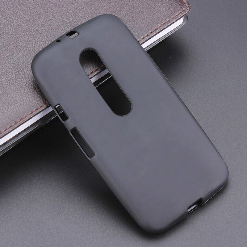 pretty nice 5817e 6126f US $1.78 10% OFF|Black Gel TPU Slim Soft Anti Skiding Case Back Cover For  Motorola Moto G3 G 3nd Gen Mobile Phone Rubber silicone Bag-in Fitted Cases  ...