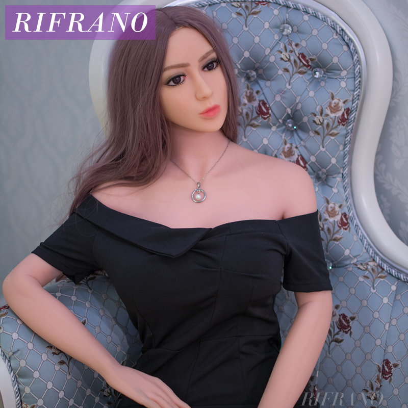 Rifrano 165cm Adults Sexy Female Real Silicone Sex Doll for Men Oral Anus Vagina Sex Love Doll Companion Free Shipping wm doll wig for 100cm sex doll and silicone real doll free shipping