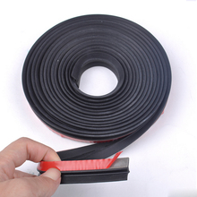 4M/lot Z Type Car Sound Deadener Styling Accessories Noise Insulation Rubber Foam Car Sound Insulation