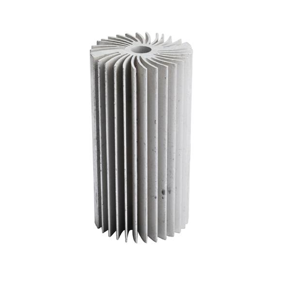 Superbat Alta Potencia 95mm altura LED radiador disipador de Calor de Aluminio para Iluminación LED Redondo