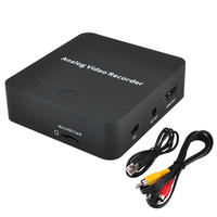 Recorder Analog to Digital Audio Video Capture Card Converter For VHS VI8 Camcorder Converts Old Video Tapes into Micro SD TF