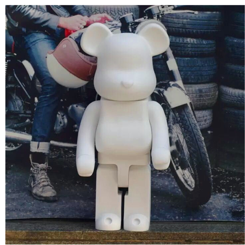 Original Model Fake Building Block Bear 100% 70CM DIY Doodle Street Art Action Figure Toby Bearbrick Model Medicom Toy H91