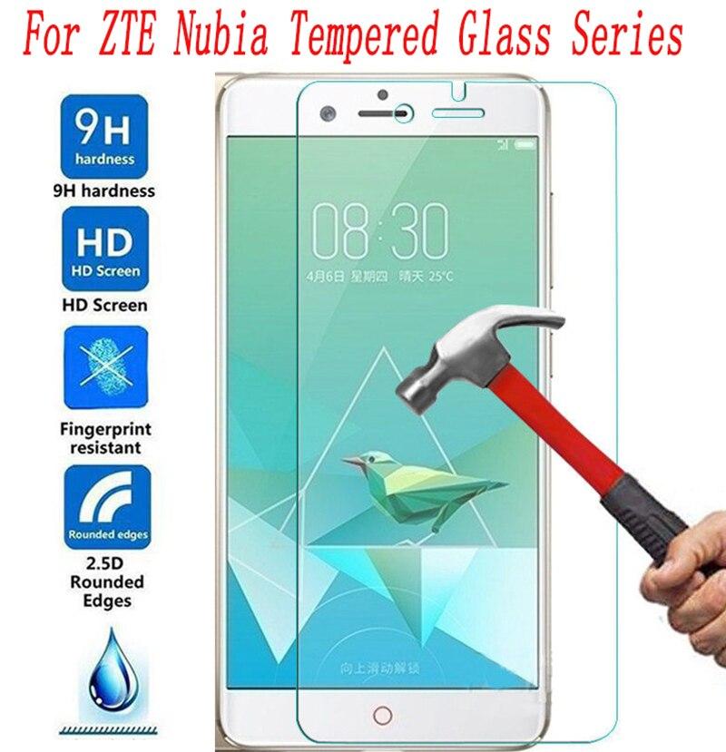 2PCS NEW Screen Protector Phone For ZTE Nubia Red Magic Z18 Mini Z17 MiniS Z17s  Z11 Z9 Max Mini S Mobile Tempered Glass