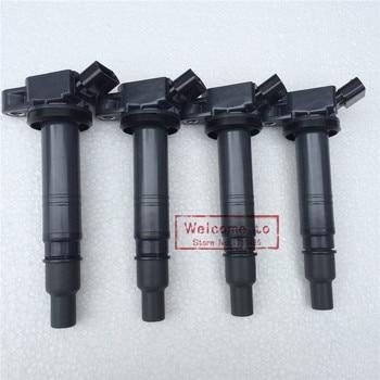 (4pcs/lot) Brand New Ignition Coil ASSY For TOYOTA VITZ COROLLA LEXUS IS F /RC F CAMRY (HYBRID) 4RUNNER OEM#90919-02260