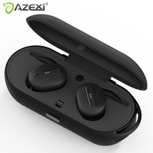 True Wireless Bluetooth earphones Stereo Binaural Sports Earbuds In Ear Earphone Built in Microphone with Chargeable