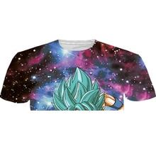 Goku/Vegeta 3D Printed T-shirts (12 styles)