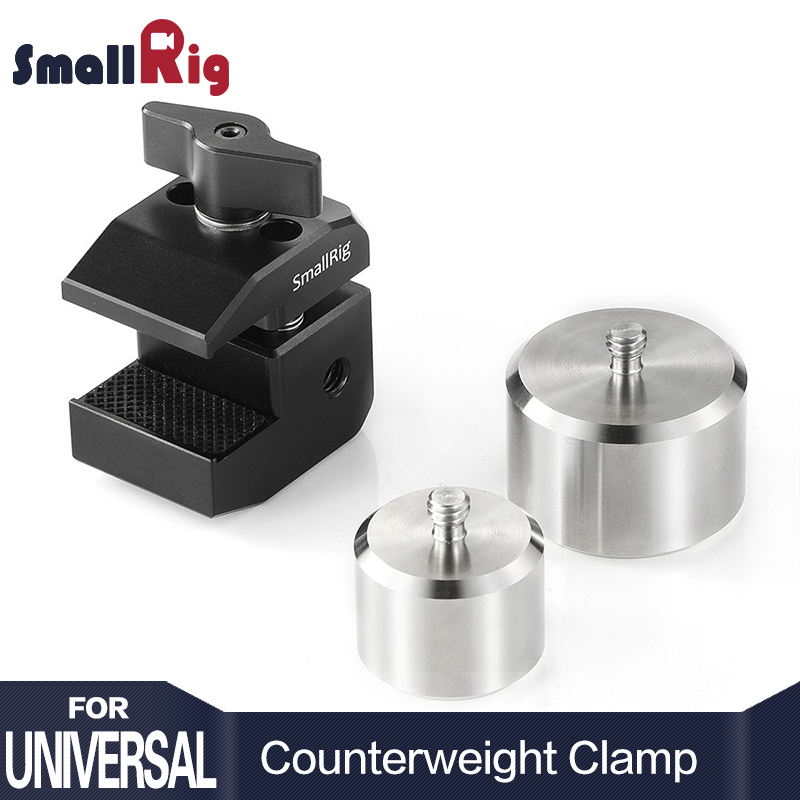 SmallRig BMPCC4K Câmera Contrapeso Braçadeira De Montagem para DJI RoninS e para Zhiyun Weebill Laboratório/série Guindaste Gimbals 2274
