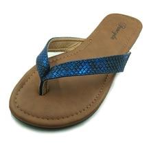 Más el Tamaño 5-10 Zapatos de Las Mujeres Del Estilo Del Verano Sandalias de Serpiente de La Manera de la Buena Calidad Sólido Ocasional Flip Flop Zapatillas al por mayor zapatos