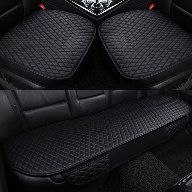 Car seat covers 4 seasons premium pu Leather Car Seat Cushion pads single general car seat cushions, car seat covers