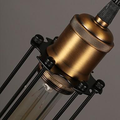 Edison Retro Style Loft Industrial Light Vintage Pendant Lamp Fxitures Lampshade Handlamp American Country 5