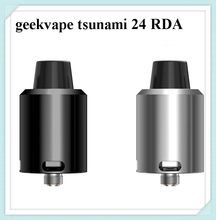 original GeekVape Tsunami 24 RDA with an Velocity style deck support single and dual coil gift Geekvape Organic Cotton Balls
