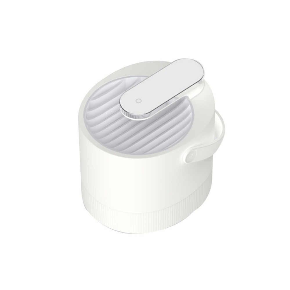 Высокое качество уникальный практичный антимоскитная лампа 5 в USB Smart оптически контролируемых насекомых убийство лампы Прямая доставка