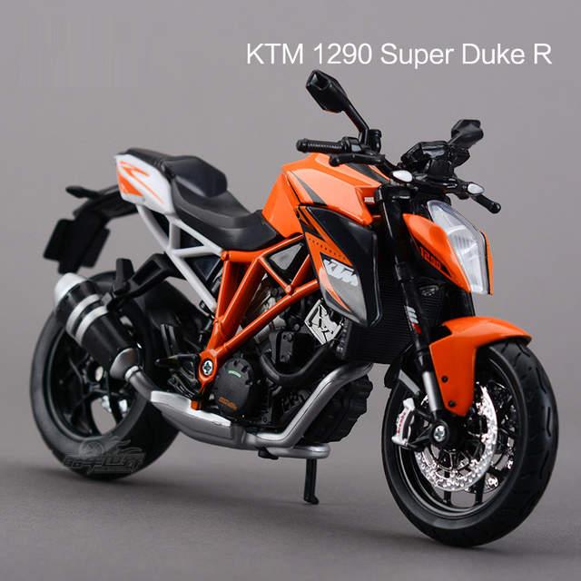 Placeholder Freeshipping Maisto Ktm 1290 Super Duke R Motorcycles 1 12 Cast Metal Sport Bike Model