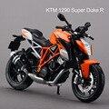 Freeshipping Motocicletas KTM 1290 Super Duke R Maisto 1:12 Diecast Metal Moto Deportiva Modelo de Juguete Nuevo en Caja Para Los Niños