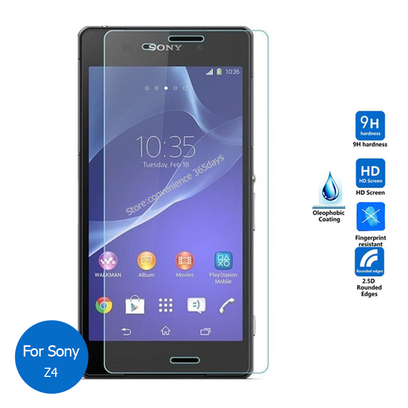 Tempered Glass Screen Protector For Sony Xperia Z3 Plus 2.5 9h Safety Protective Film on Z 3 Plus E6553 E6533 E 6533 6553