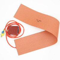 150*900mm 800W 220V Silicone Heater Side Blanket Home Heating Cooling Air Versatile Furnaces Bending Practical