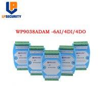 6AI/4DI/4DO 0-20MA/4-20MA entrada/entrada e saída Digital módulo/RS485 comunicação MODBUS RTU WP9038ADAM
