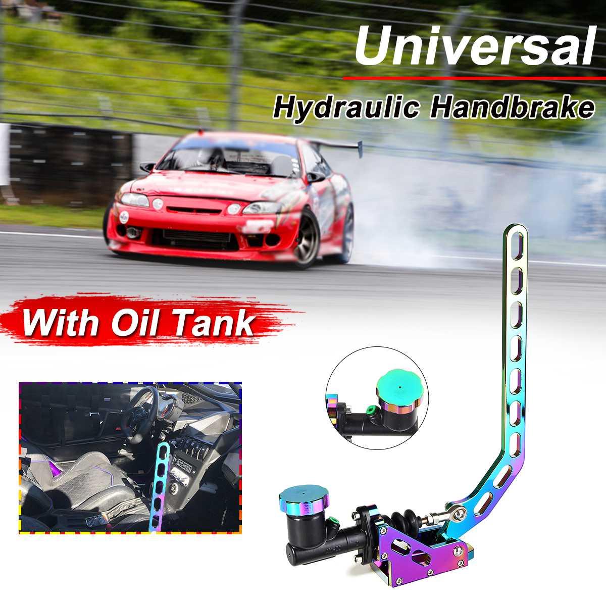 Racing Car Hydraulic E-BRAKE Drift Rally Lever Handbrake Gear With Oil Tank