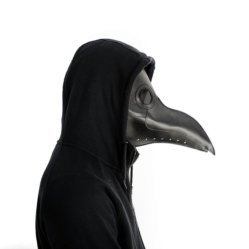 New plague doctor mask Beak Doctor Mask Long Nose Cosplay Fancy Mask Gothic Retro Rock Leather Halloween beak Mask plague doctor mask beak mask long nose cosplay fancy mask gothic retro rock leather halloween beak mask white red black blue