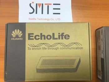 Enrutador de fibra óptica epon onu con 1 puerto GE EchoLife igual que Hua  wei HG8010H