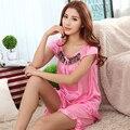 Бесплатная доставка Большой размер XXL XXXXL XXXL 5xl 6xl марка летний стиль пижамы женщины ночное продукты секса рубашки 13 моделей