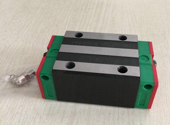 2pcs/lot 100% original Hiwin linear blocks HGH25CA hiwin 100