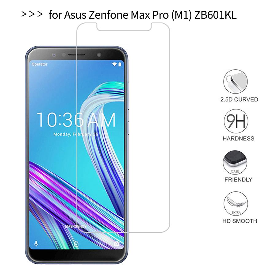 For Asus Zenfone Max Pro M1 ZB602KL Tempered <font><b>Glass</b></font> Screen Protector 2.5 9h Safety Protective Film on ZB602 KL <font><b>ZB</b></font> <font><b>602KL</b></font> image