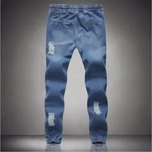 New mens Stylish ripped Jogger Jeans Skinny biker jeans perfumes original Plus size S M L XXL XXXL 4XL 5XL elastic jeans