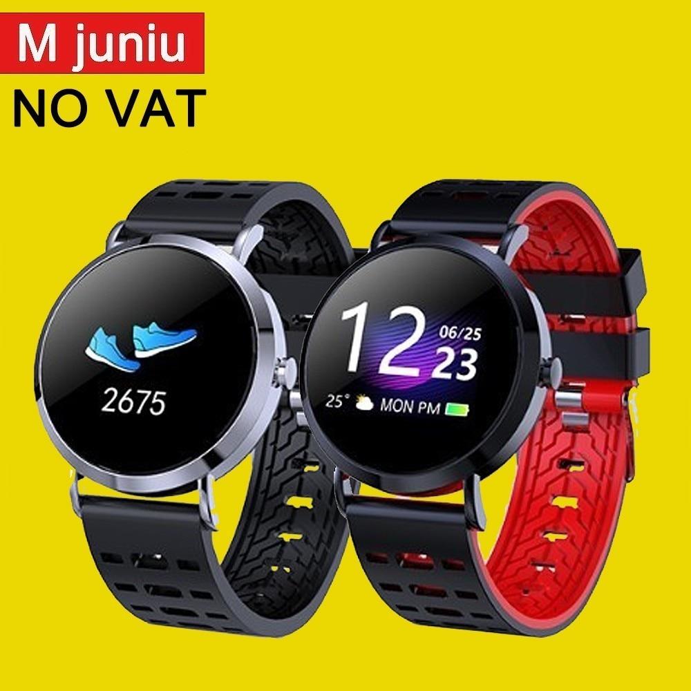 Mjuniu cv08c Fashion Smart Watch Classic Bluetooth Bracelet, Blood Pressure/oxygen/heart Rate Measurement Tracker cv08c PK Q8-in Smart Wristbands from Consumer Electronics    1