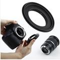 Бесплатная доставка камера OM-52 52 мм Макро Обратный Переходное Кольцо для Гору Олимп