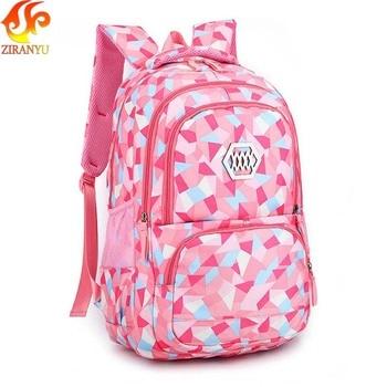 ZIRANYU Girl School Bag Waterproof light Weight Girls Backpack bags printing backpack child backpacks for adolescent girl Kids & Baby Bags